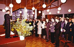 Einweihung des neuen Josefshauses am 13. Oktober 1985