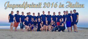 Jugendfreizeit 2016 in Italien