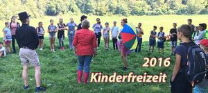 Kinderfreizeit 2016 in Kloster Arnstein