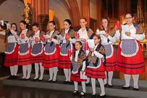 Portugiesische Folklore-Gruppe