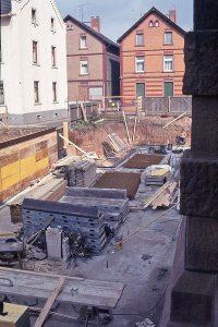 Bauphase Neues Josefshaus 1984