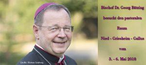 Vistation durch Bischof Dr. Georg Bätzing