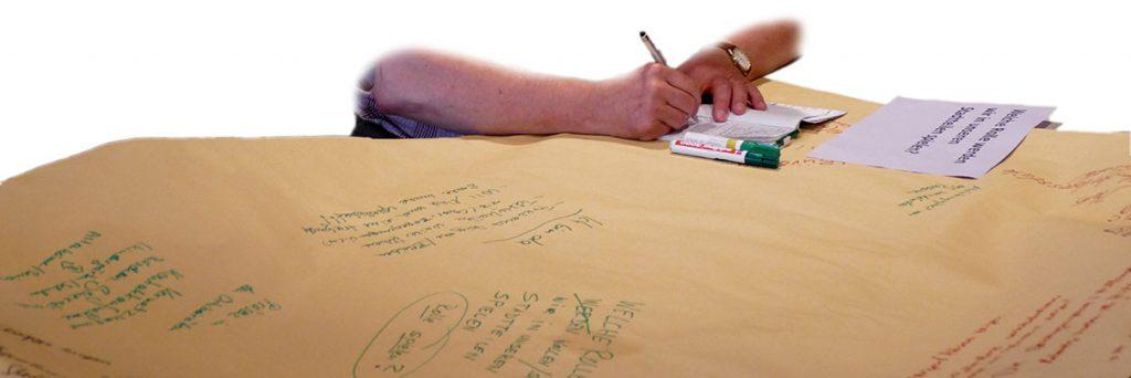 Zukunftswerkstatt Tischgruppen Zusammenfassung